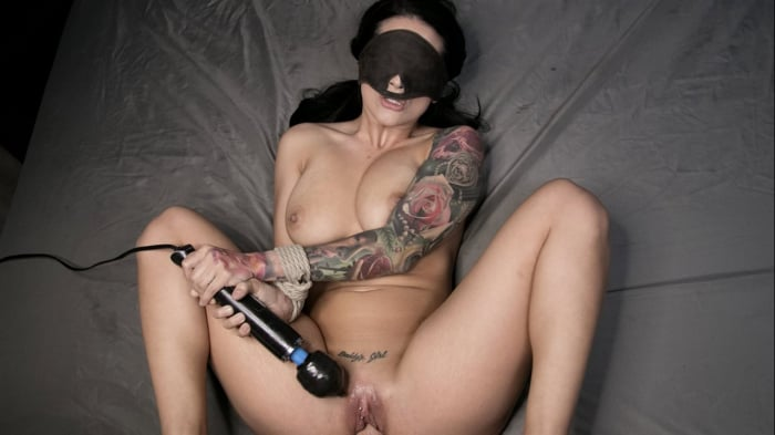 Katrina Jade in Blindfolded, Tied Up, And Fucked
